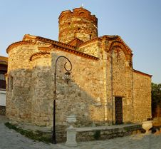 Ancient Church - Nessebar Royalty Free Stock Photo