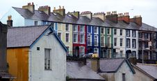 Free Colorful Row Houses Stock Images - 921634