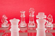 Free Chess King Queen Knights Royalty Free Stock Photo - 921925