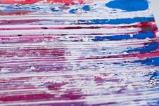 Free Splattered Smeered And Printed Stock Image - 922011