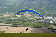Free Paraglider Royalty Free Stock Photography - 922397