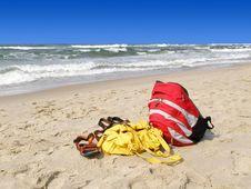 Free Beach Items Stock Photo - 923000