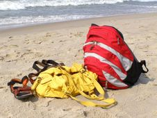 Free Beach Items Royalty Free Stock Photo - 923145