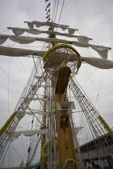 Free Cuauhtemoc S Rigging Royalty Free Stock Image - 923686
