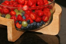 Bowl Of Berries Royalty Free Stock Images