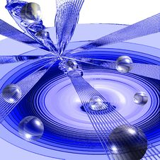 Free Abstraction In Blue Tones Stock Photo - 925350