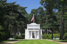 American War Memorial Stock Image