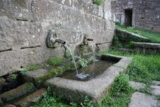 Free Ancient Fountain Stock Photography - 926282