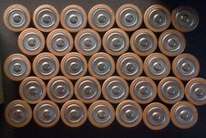 Free A Size Batteries Royalty Free Stock Photos - 927028