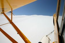 Free Flying Over A Glacier Stock Image - 927061