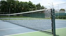 Free Tennis Field Royalty Free Stock Photos - 927408