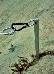 Carabiners & Metal Stick Stock Photos