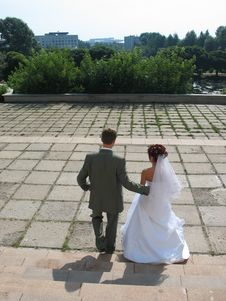 Free Newly Wedded Stock Photos - 927913