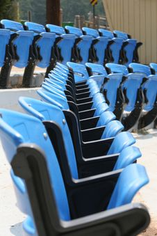 Free Blue Chairs Stock Images - 928604
