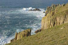 Free Cape Cornwall Royalty Free Stock Photo - 929775