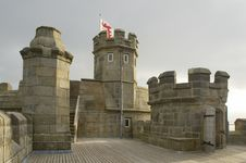 Free Castle Of Falmouth Stock Photo - 929810