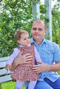 Free Dad And Daughter Royalty Free Stock Photography - 9215007