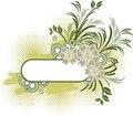 Free Grunge Floral Frame Stock Photos - 9217003
