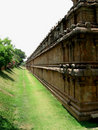Free Long Temple Wall Stock Photo - 9217790