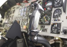 Free Helicopter Comands Or Controls Royalty Free Stock Photography - 9213057