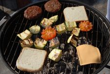 Free Barbecue Time Stock Photography - 9213182