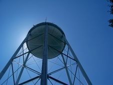 Free Blue  Water  Tower Stock Photo - 9214590