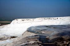 Free Pamukkale Landscape Royalty Free Stock Images - 9214919