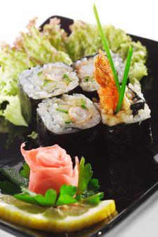 Free Japanese Cuisine - Sushi Stock Images - 9214984
