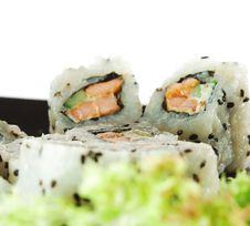 Free Japanese Cuisine - Sushi Stock Image - 9215181
