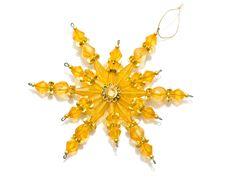 Free Golden Snowflake Royalty Free Stock Photos - 9215468