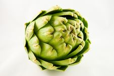 Free Single Artichoke Royalty Free Stock Photos - 9216508