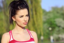Free Fitness Woman. Royalty Free Stock Image - 9217666
