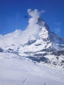 Free The Matterhorn Royalty Free Stock Photo - 9217685