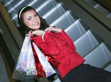 Free Happy Shopper Stock Photo - 9217750