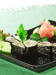 Free Japanese Cuisine - Sushi Royalty Free Stock Images - 9217809