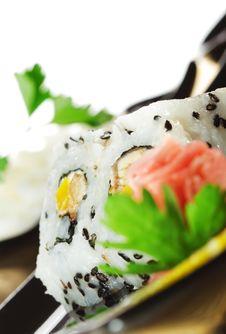 Free Japanese Cuisine - Sushi Royalty Free Stock Photo - 9217845