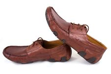 Free Brown Shoes Stock Image - 9219051
