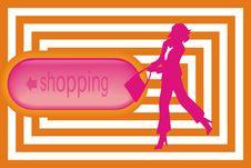 Free Shopping. Stock Photo - 9219390
