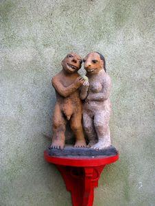 Free Krumlow Figurines Royalty Free Stock Photo - 9219735