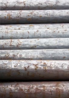 Iron Pipe Stock Images