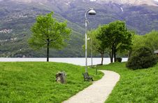 Free Driveway In The Park Royalty Free Stock Photos - 9219968
