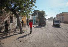Free 2013_10_20_AMISOM_KDF_Kismayo_Town_003 Stock Photos - 92128533