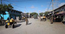 Free 2013_10_20_AMISOM_KDF_Kismayo_Town_001 Stock Image - 92128641