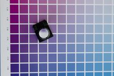 Free Cmyk Color Management Linen Tester Royalty Free Stock Images - 92130909