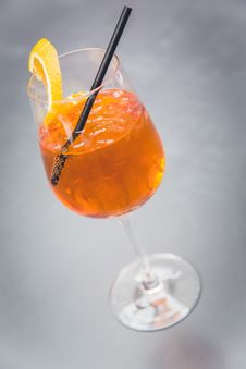 Free Cocktail Aperol Spritz Royalty Free Stock Photos - 92131158