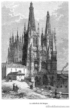Free Burgos Cathedral Stock Photos - 92131983