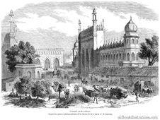 Free Main Street, Lucknow Royalty Free Stock Image - 92132176