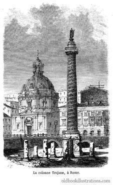Free Trajan's Column Stock Photo - 92132190