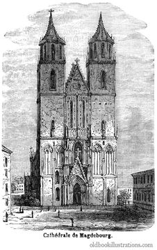 Free Magdeburg Cathedral Royalty Free Stock Image - 92132196