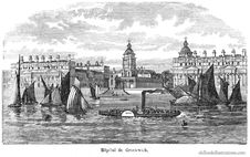 Free Greenwich Hospital Royalty Free Stock Images - 92132229